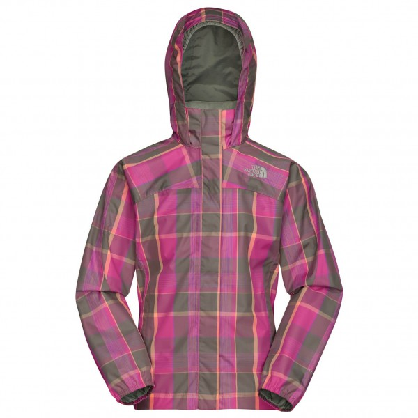 The North Face - Girl's Plaid Resolve Jacket - Regenjacke
