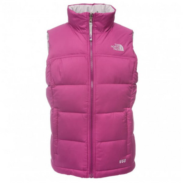 The North Face - Girl's Nuptse Vest - Daunenweste
