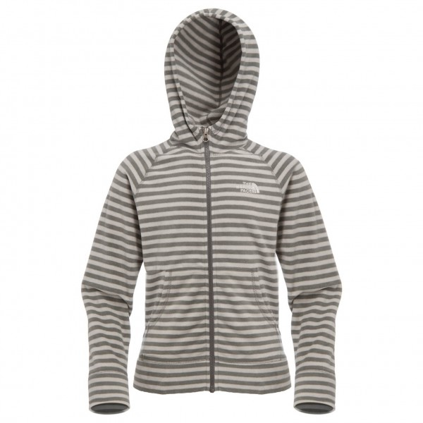 The North Face - Boy's Striped Glacier Full Zip Hoodie