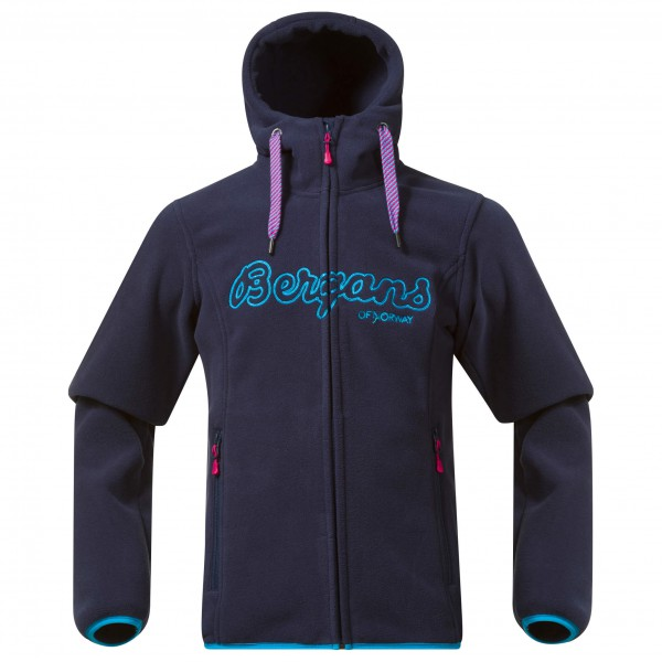 Bergans - Kid's Bryggen Youth Girl Jacket - Fleece jacket