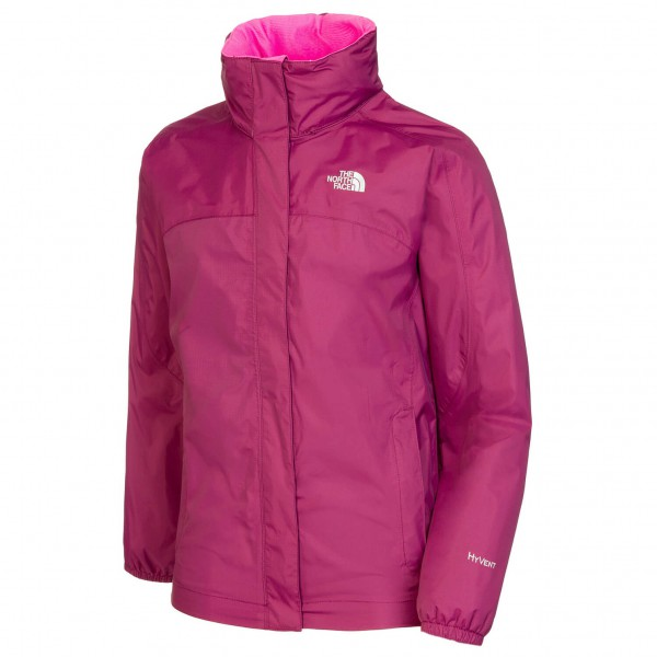 The North Face - Girl's Resolve Reflective Jacket - Regnjacka