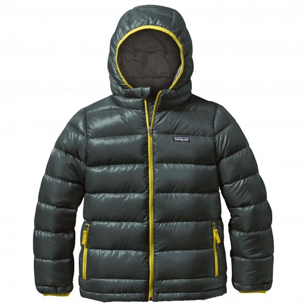 Patagonia - Boy's Highloft Down Sweater Hoody - Donzen jack
