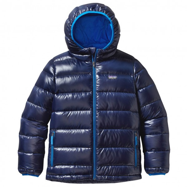 Patagonia - Boy's Highloft Down Sweater Hoody - Untuvatakki