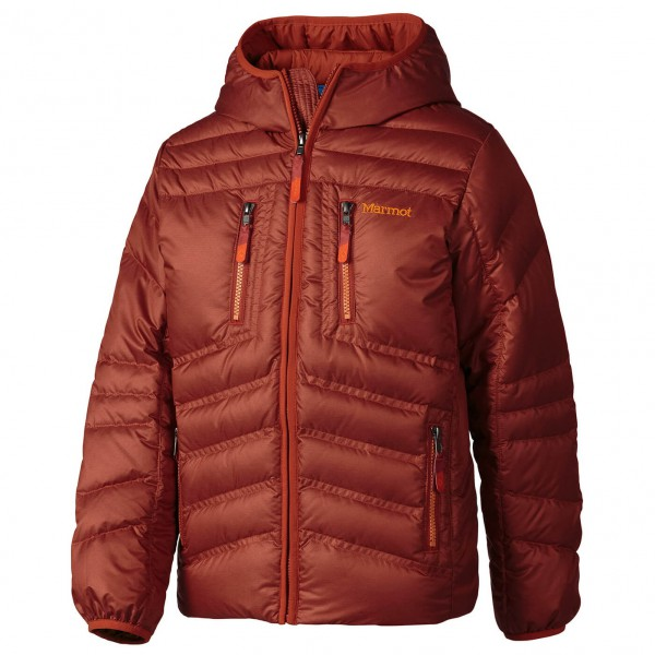 Marmot - Boy's Hangtime Down Hoody - Down jacket