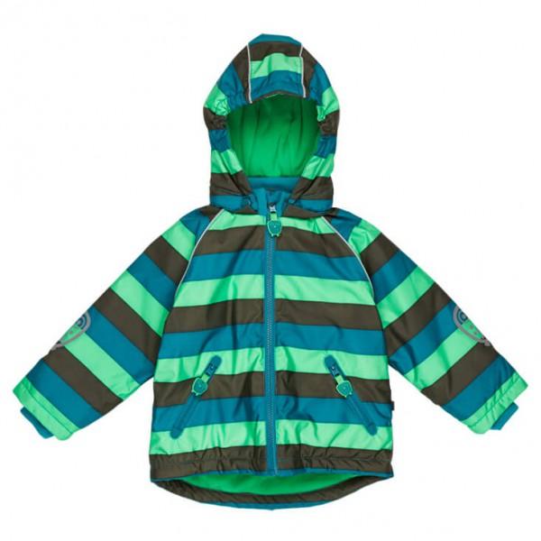 Ej Sikke Lej - Boy's Striped Outerwear Jacket - Talvitakki
