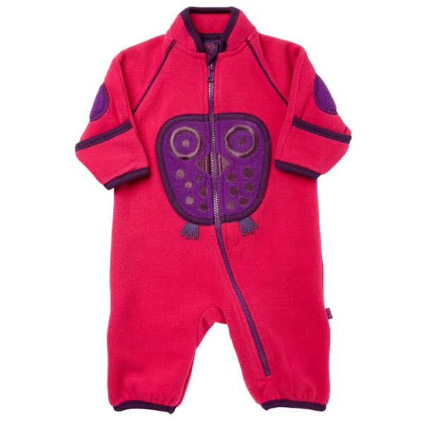 Ej Sikke Lej - Kid's Owl Fleece Playsuit - Combinaison