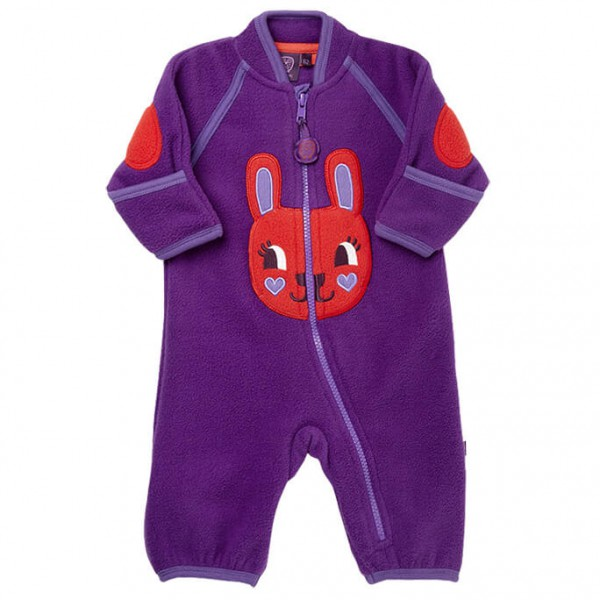 Ej Sikke Lej - Kid's Animal Fleece Playsuit - Haalarit