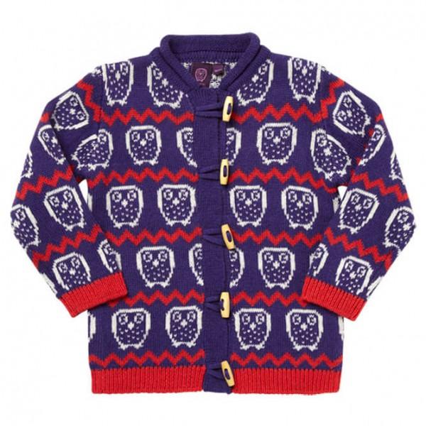 Ej Sikke Lej - Kid's Nordic Knit Cardigan - Wool jacket