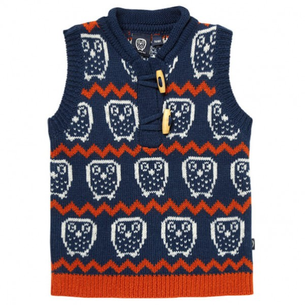 Ej Sikke Lej - Kid's Nordic Knit Waistcoat