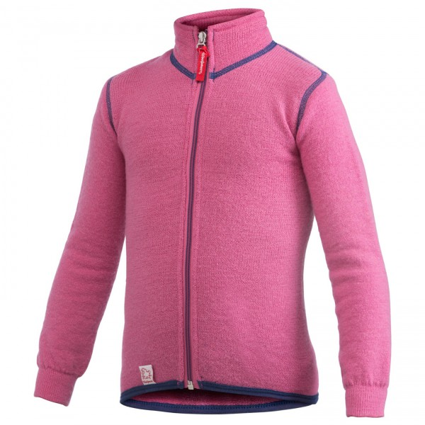Woolpower - Kid's Full Zip Jacket 400 - Veste en laine
