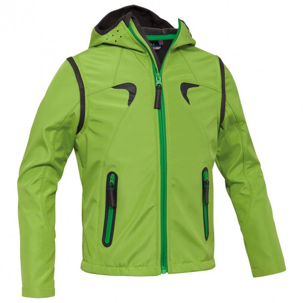 Salewa - Kid's Odissey Sw 2/1 Jacket - Softshell jacket
