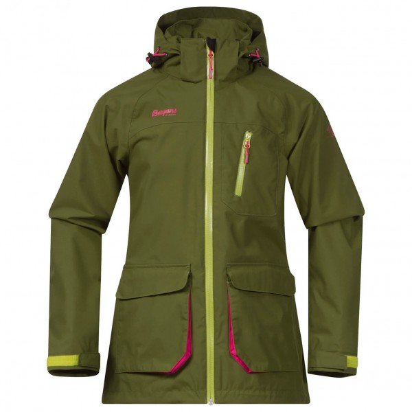 Bergans - Folven Youth Girl Jacket - Hardshelljacke