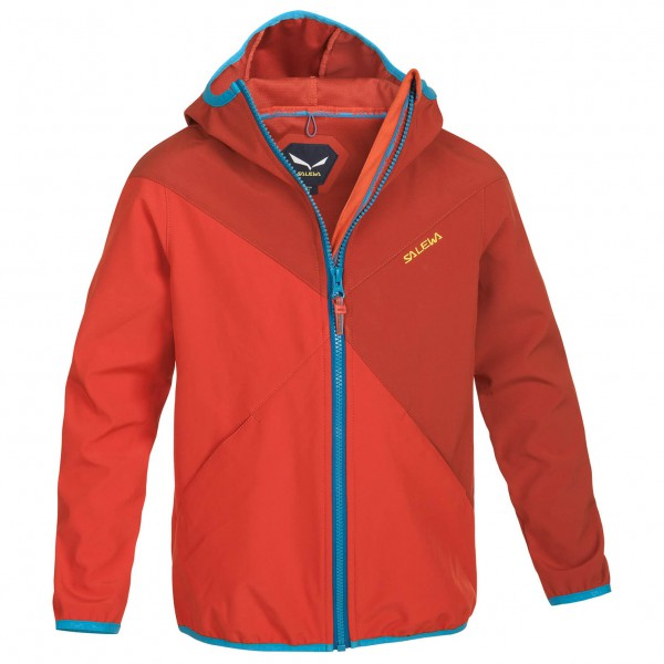 Salewa - Kid's Jumbo Love SW Jacket - Softshell jacket