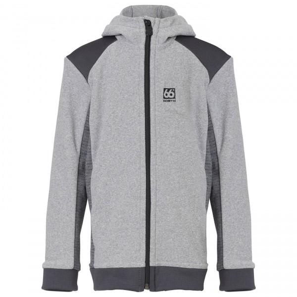 66 North - Kid's Sigyn Hooded Jacket - Fleecetakki