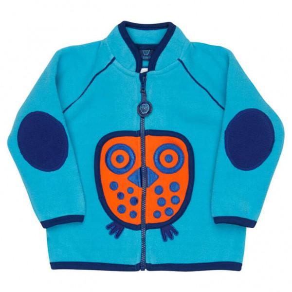Ej Sikke Lej - Kid's Owl Fleece Jacket - Fleece jacket