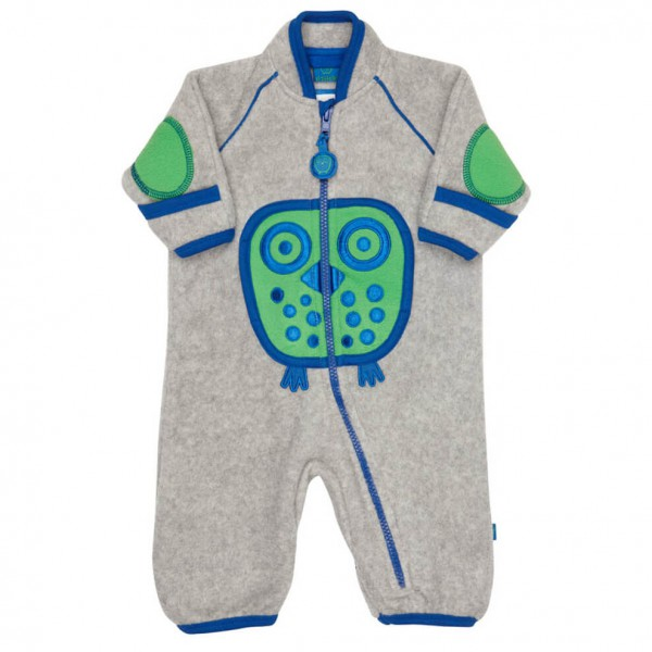 Ej Sikke Lej - Kid's Owl Fleece Playsuit - Haalarit