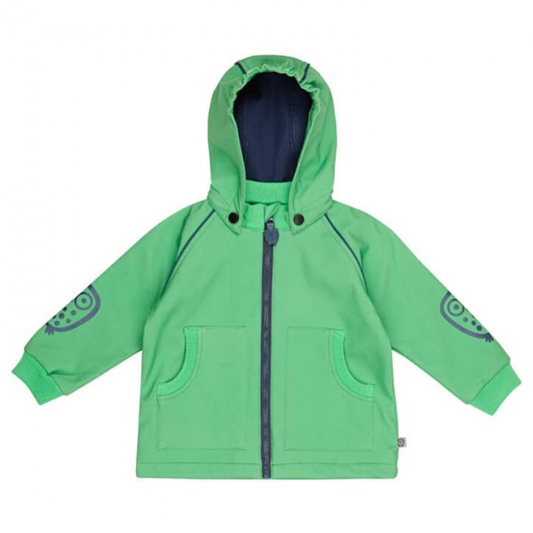 Ej Sikke Lej - Kid's Softshell Jkt Big Owl - Softshelljacke
