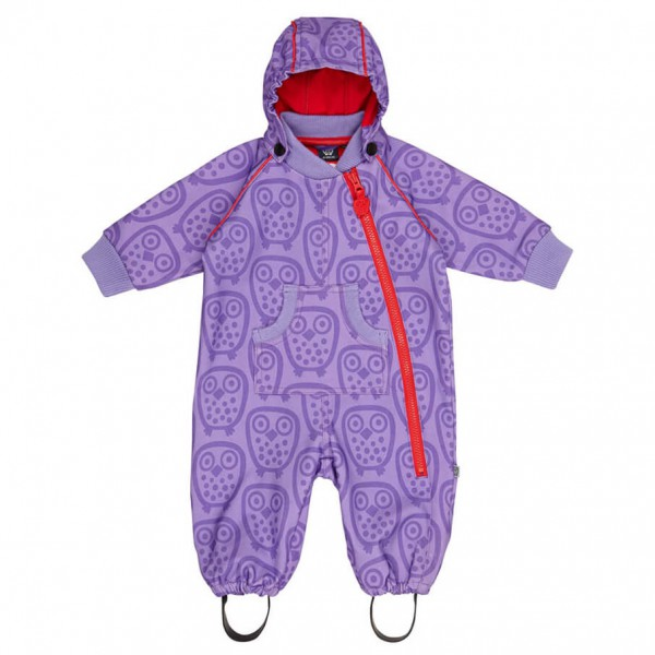 Ej Sikke Lej - Kid's Soft Shell Suit AO Owls - Overalls