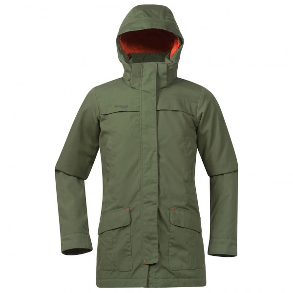 Bergans - Girl's Lade Insulated Parka - Jas