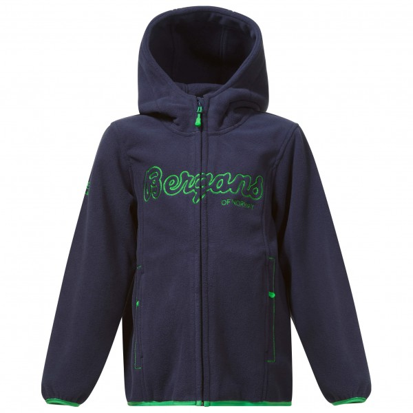 Bergans - Kid's Bryggen Jacket - Fleece jacket
