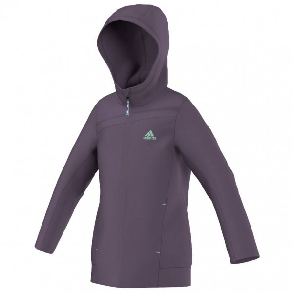 Adidas - Girl's Teddy Fleece - Fleecejack