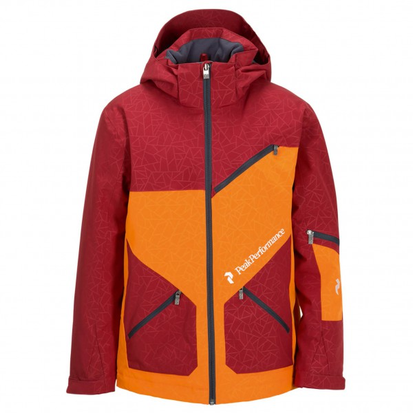 Peak Performance - Kid's Pop Printed Jacket - Skijack