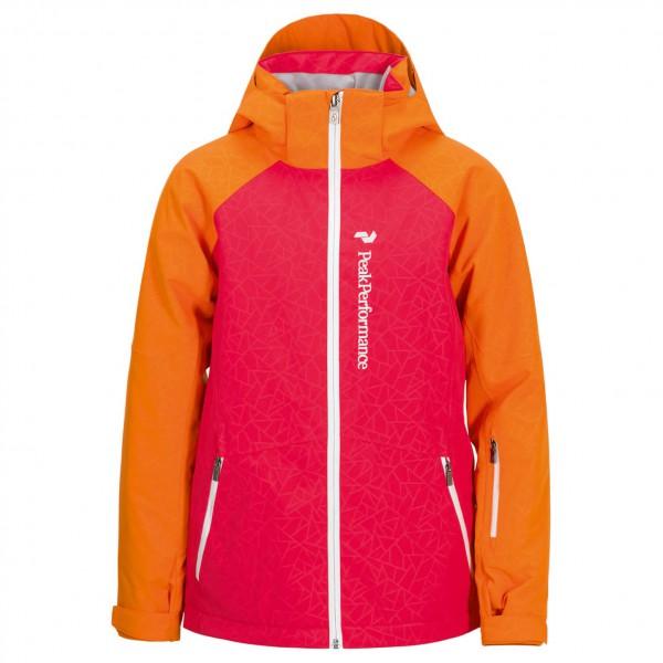 Peak Performance - Girl's Starlet Printed Jacket - Skijacke