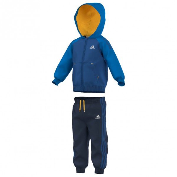 adidas - Infant's 3S Full Zip Hoodie Tracksuit