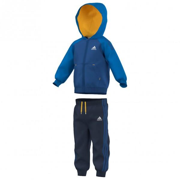 adidas - Infant's 3S Full Zip Hoodie Tracksuit