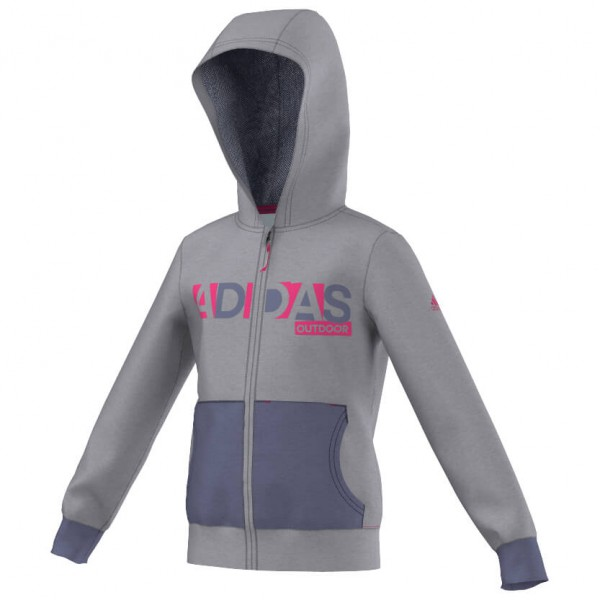 adidas - Girl's Lazy Hoody - Fleecejacke
