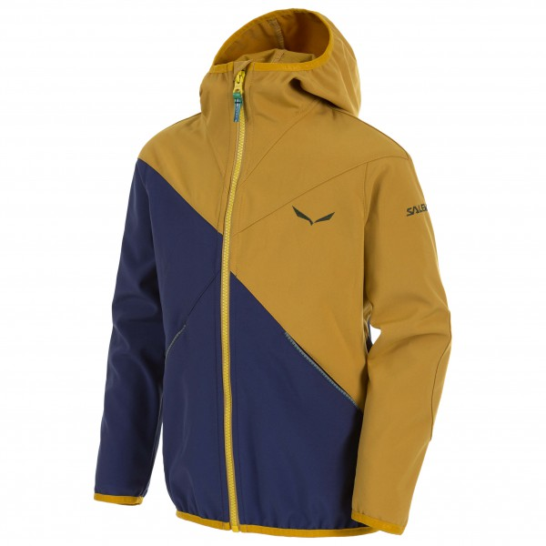 Salewa - Kd's Fanes Stormwall Jacket - Softshelljacke
