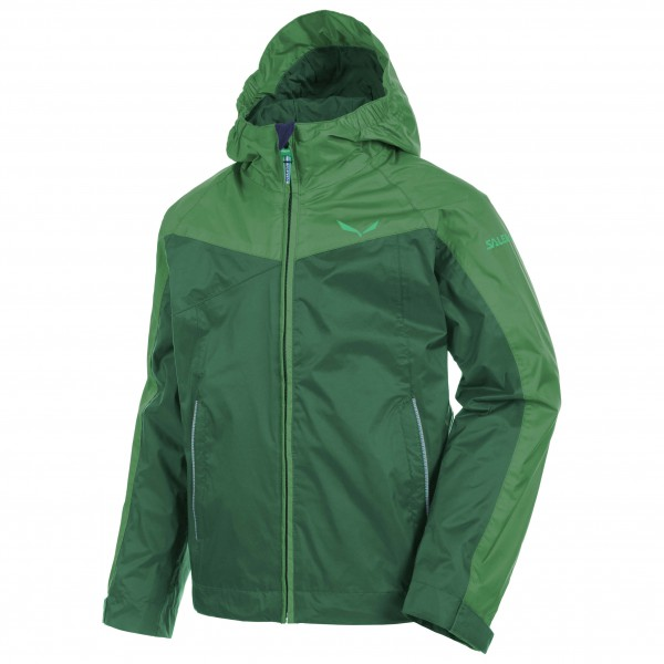 Salewa - Kid's Puez Raintec Jacket - Hardshelltakki