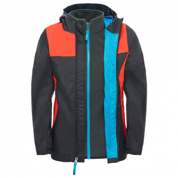 The North Face - Boy's Stormy Rain Triclimate - Dubbel jack