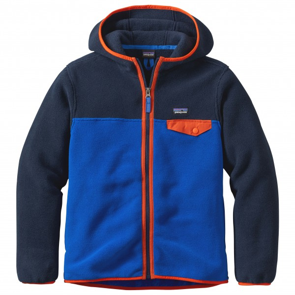 Patagonia - Boys' Lightweight Synchilla Snap-T Hoody - Fleece jacket