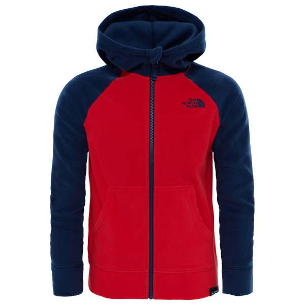 The North Face - Boy's Glacier Full Zip Hoodie - Veste polai