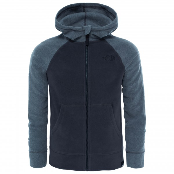 The North Face - Boy's Glacier Full Zip Hoodie - Fleecetakki
