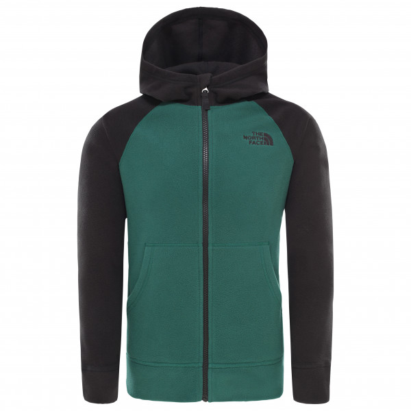 The North Face - Boy's Glacier Full Zip Hoodie - Fleece jacket