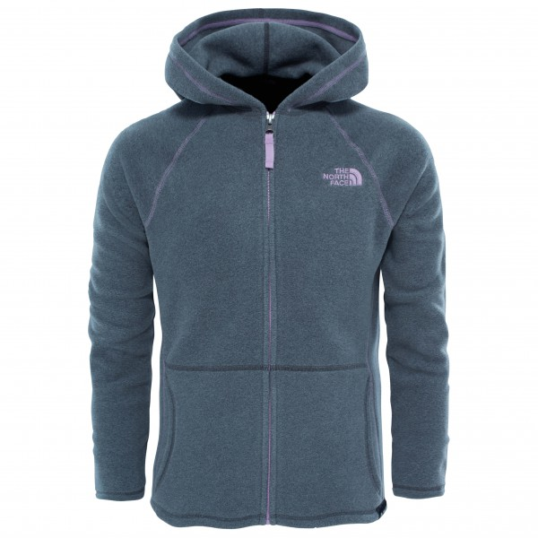The North Face - Girl's Glacier Full Zip Hoodie