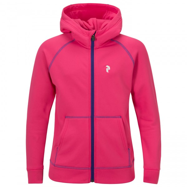 Peak Performance - Kid's Spikey Zip Hood - Fleece jacket