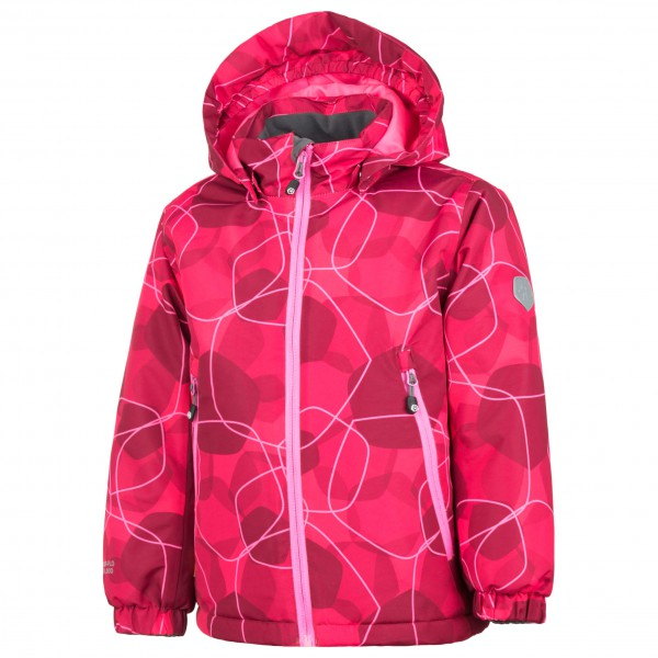 Color Kids - Kid's Rebel Padded Jacket AOP - Winter jacket