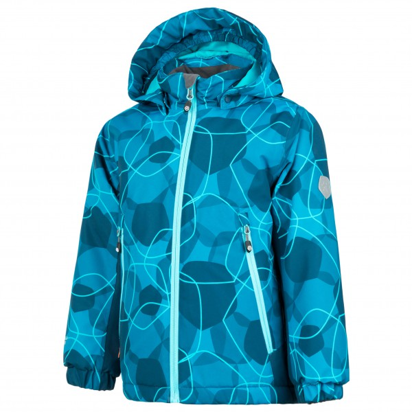 Color Kids - Kid's Rebel Padded Jacket AOP - Talvitakki