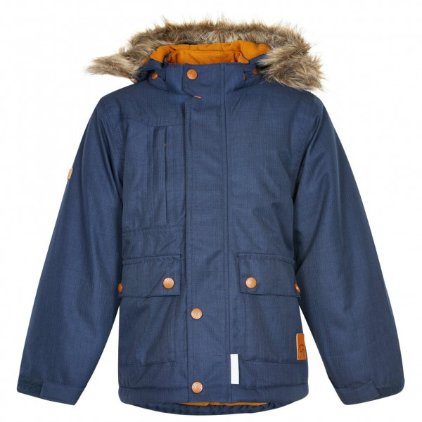 Minymo - Boy's Gam 18 Snow Jacket Herringbone - Winterjack