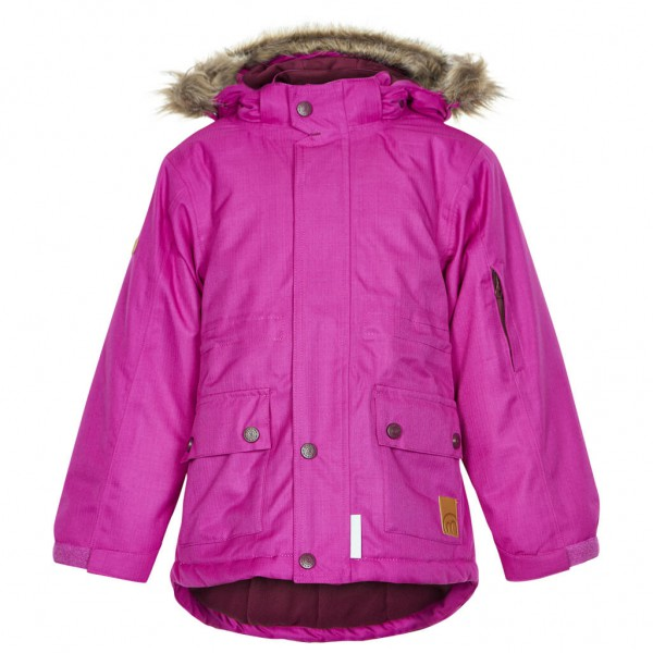 Minymo - Girl's Gam 19 Snow Jacket Herringbone - Winter jack