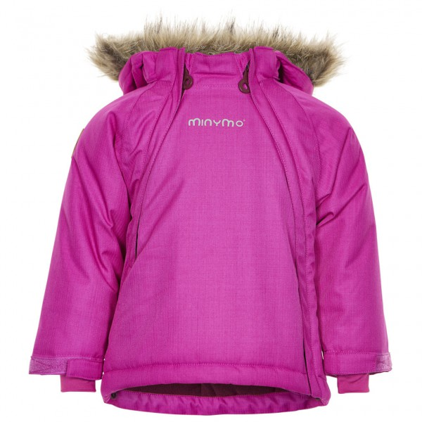 Minymo - Kid's Gam 24 Snow Jacket Herringbone - Winterjacke