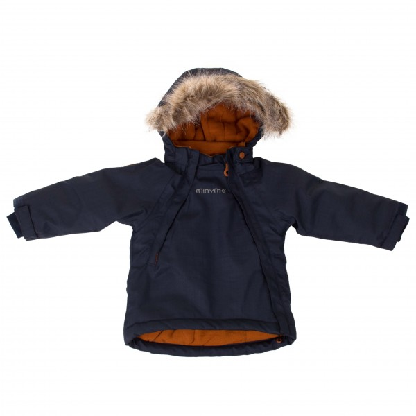 Minymo - Kid's Gam 24 Snow Jacket Herringbone - Winterjack