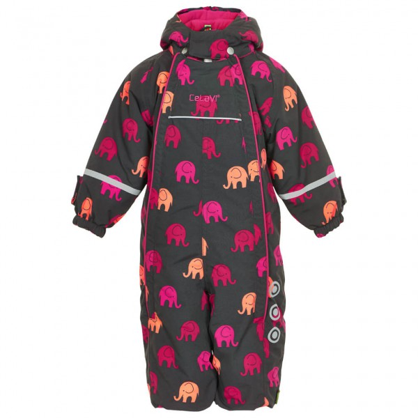 CeLaVi - Kid's Snowsuit Elephant with 2 Zippers - Overalls