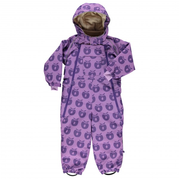 Smafolk - Kid's Snowsuit 2 Zipper Apples - Overalls
