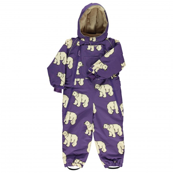Smafolk - Kid's Snowsuit 2 Zipper Polarbear - Haalarit
