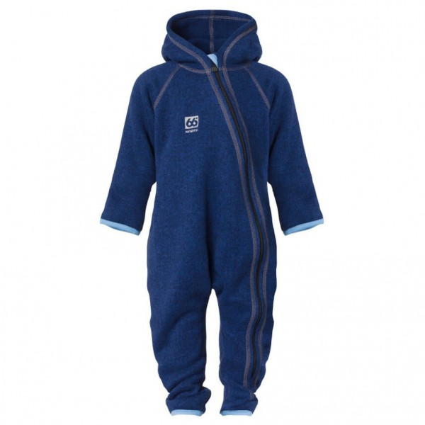 66 North - Kria Knit Overall with Sock & Mittens - Overalls