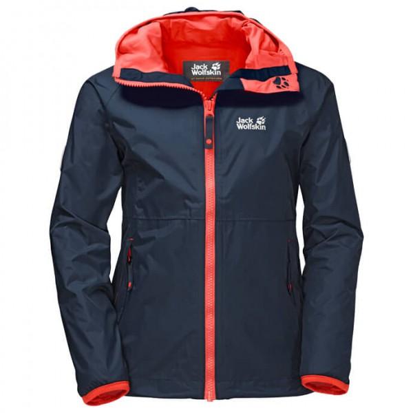 Jack Wolfskin - Rainy Days Girls - Waterproof jacket